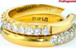 Пробы золота 750 и 585 — что лучше?