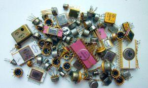 Содержание драгоценных металлов в радиодеталях
