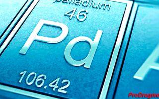 Палладий: основные свойства, цена, добыча и использование