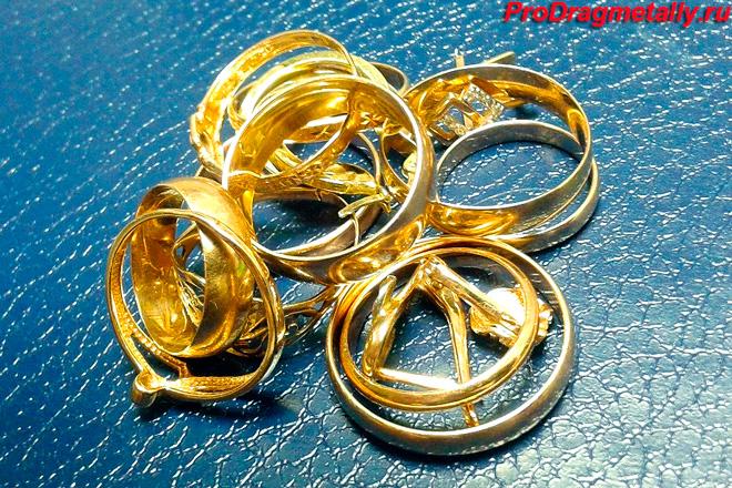 Золотые украшения 583 и 585 пробы