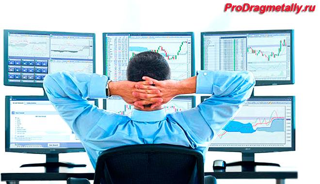 Прогноз цен на золото на бирже