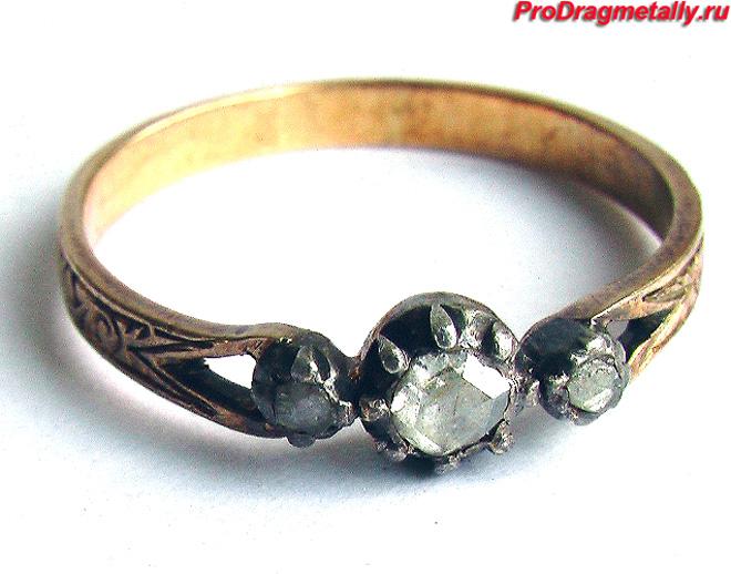 Старинное кольцо