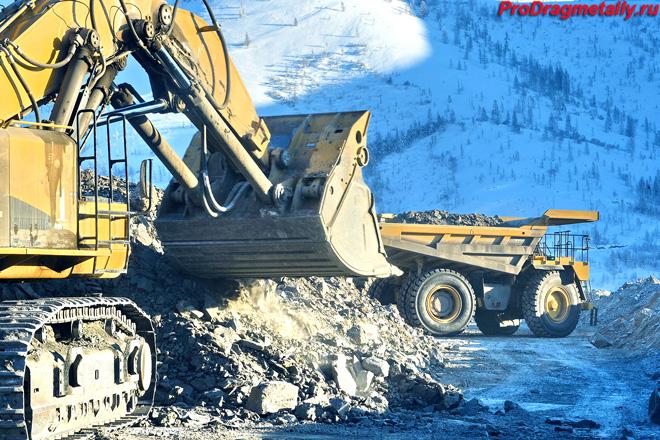 Добыча золота в Магаданской области