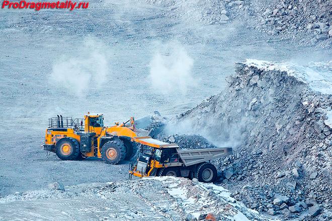 Добыча золота в Казахстане