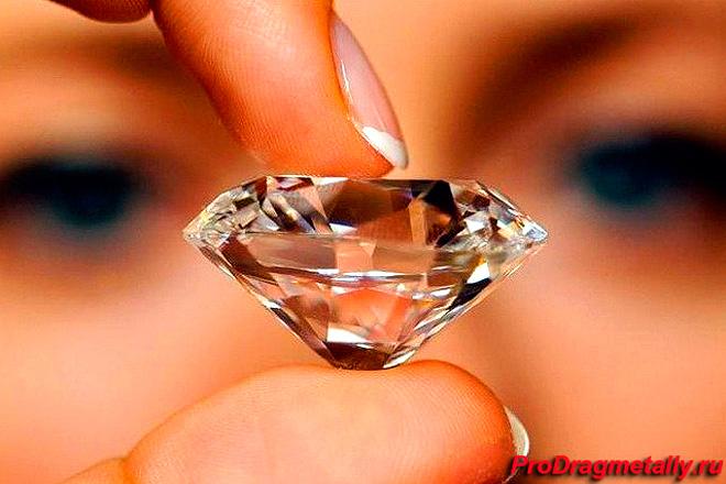 Алмаз в огранке