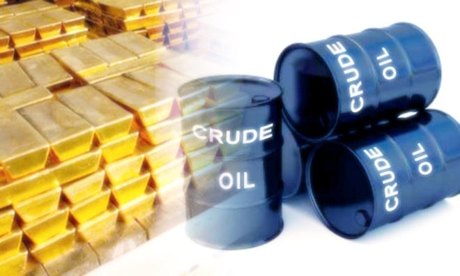 Нефть и золото