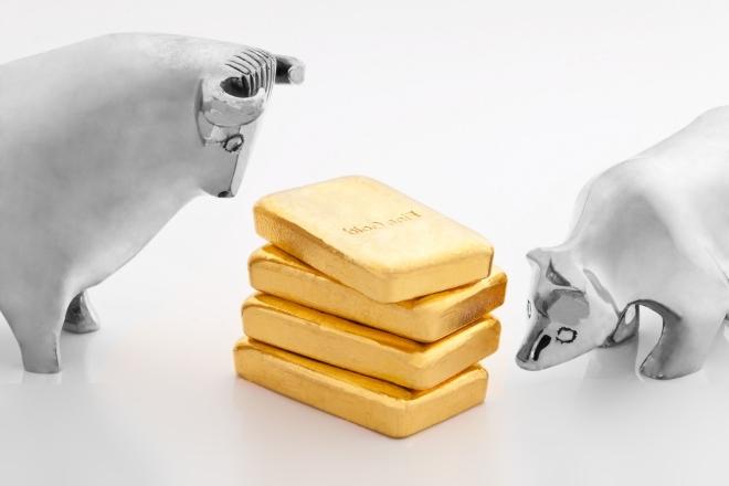Колебания цен на золото