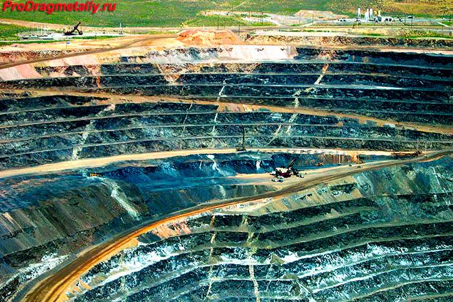 Добыча золота за пределами Калифорнии