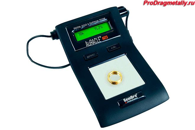 Детектор для проверки золота