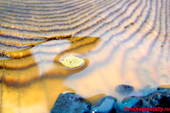 Промывка золота