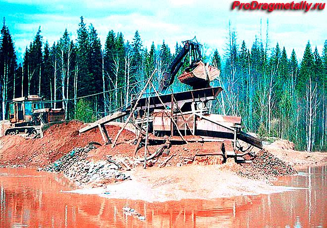 Разработка нового месторождения и россыпи
